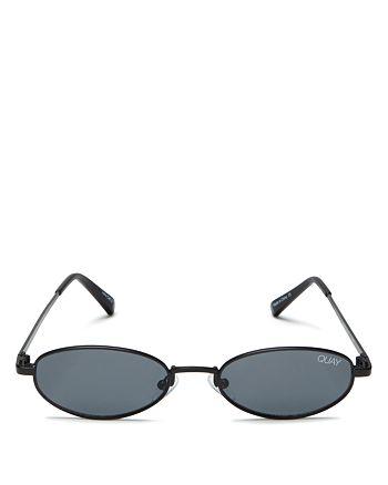 Quay - Women's Showdown Slim Oval Sunglasses, 56.5mm