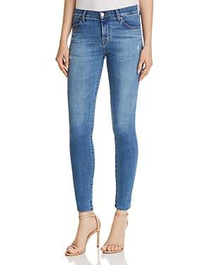 J Brand 620 Super Skinny Jeans in Sawyer Destruct