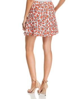 IRO.JEANS - Secrets Printed Mini Skirt