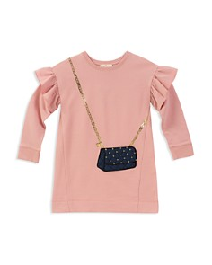 kate spade new york Girls' French Terry Quilted-Handbag Sweater Dress - Little Kid - Bloomingdale's_0