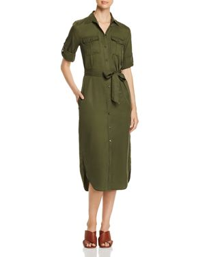 LAUREN RALPH LAUREN UTILITY SHIRT DRESS