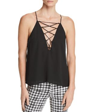 WAYF SIERRA LACE-UP CAMISOLE - 100% EXCLUSIVE