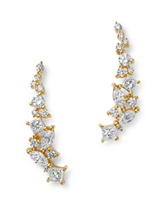 Bloomingdale's - Diamond Climber Earrings in 14K Yellow Gold, 0.75 ct. t.w. - 100% Exclusive
