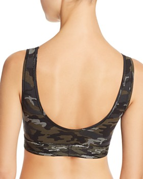 Calvin Klein - Camo Unlined Wireless Bralette