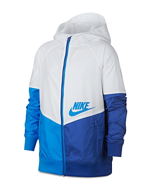 Nike Boys FullZip Windrunner Jacket  Big Kid