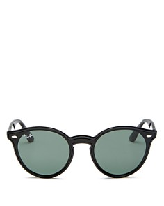 Ray-Ban - Women's Ray-Ban Blaze Round Sunglasses, 37mm