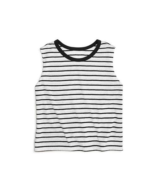 AQUA - Girls' Striped Tank, Big Kid - 100% Exclusive
