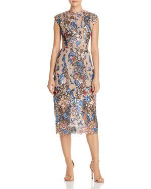 Bronx And Banco Bird of Paradise Embellished Dress