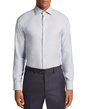 Armani - Stitched-Stripe Tailored Fit Shirt