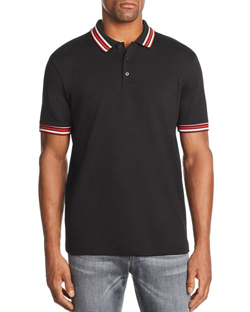 HUGO - Dancroft Stripe-Tipped Polo Shirt