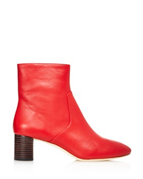 Loeffler Randall - Women's Gema Pointed Toe Leather Booties