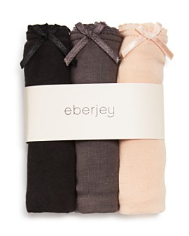 Eberjey - Pima Goddess Thongs, Set of 3