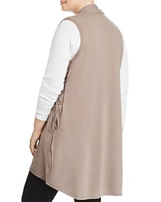 Love Scarlett Plus - Side-Tie Vest - 100% Exclusive