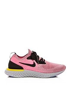 Nike - Women's Epic React Flyknit Lace-Up Sneakers