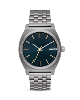 Nixon - The Time Teller Stainless Steel Watch, 37mm