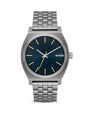 Nixon The Time Teller Stainless Steel Watch, 37mm