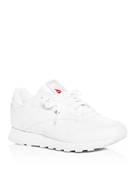 Reebok - Women's Classic Leather Lace Up Sneakers