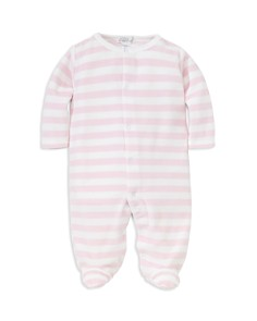 Kissy Kissy Girls' Striped Velour Footie - Baby - Bloomingdale's_0