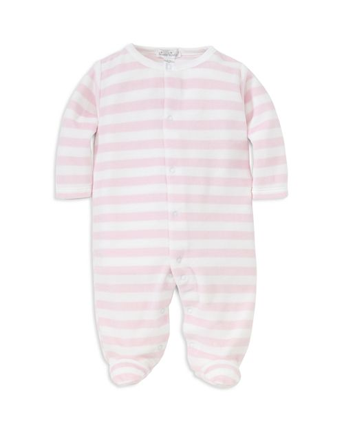 Kissy Kissy - Girls' Striped Velour Footie - Baby