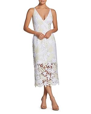 Dress the Population Aurora Lace Midi Dress