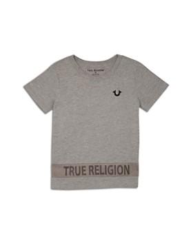 16f77ca30 True Religion - Boys' Mesh Detail Logo Tee - Little Kid, Big Kid