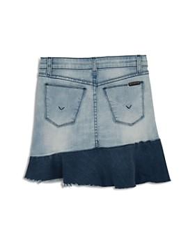 Hudson - Girls' Asymmetrical-Ruffle Denim Skirt, Big Kid - 100% Exclusive