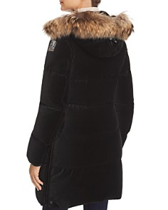 Parajumpers - Sindy Fur Trim Velvet Down Coat