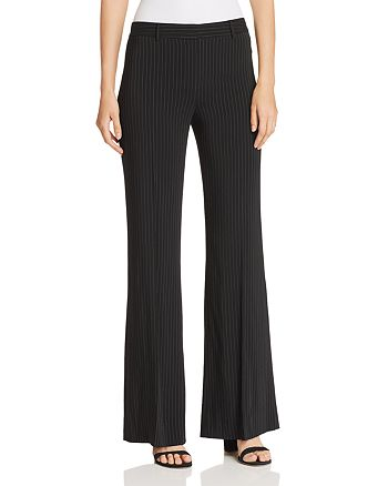 Kobi Halperin - Courtnie Pinstriped Flare Pants