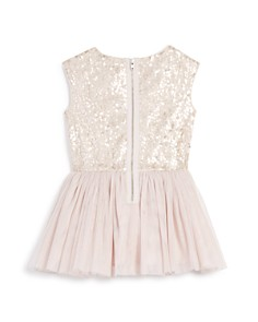 Pippa & Julie - Girls' Sequin Tutu Drop Waist Dress - Little Kid