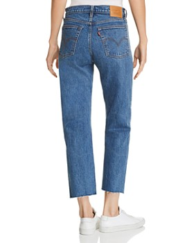 Levi's - Wedgie Crop Straight Jeans in Love Triangle