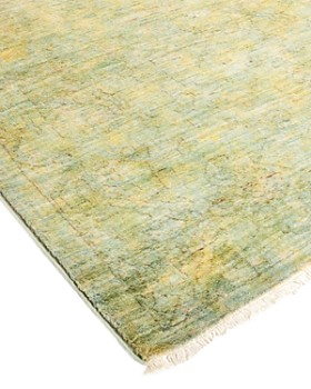 """Solo Rugs - Vibrance 41 Hand Knotted Area Rug, 4' 0"""" x 15' 9"""""""