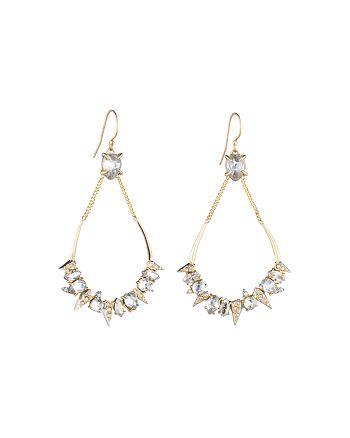 Alexis Bittar - Swarovski Crystal Encrusted Mosaic Teardrop Earrings