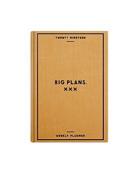 Easy Tiger - Big Plans 2019 Weekly Planner