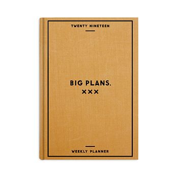 Easy Tiger - Big Plans 2019 Weekly Planner