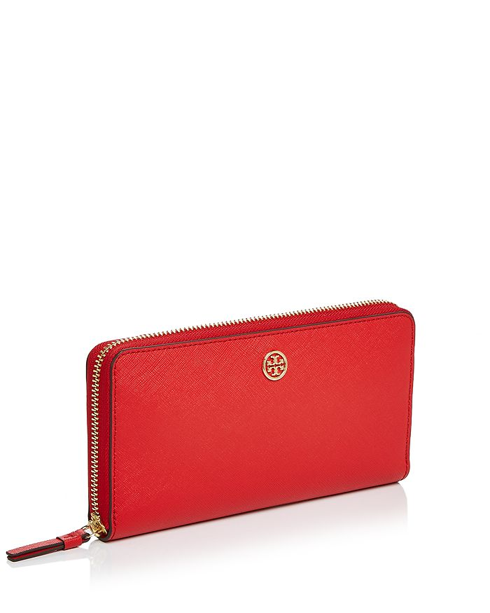 343a3a990b3 Tory Burch Robinson Zip Leather Continental Wallet | Bloomingdale's