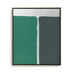 """Mitchell Gold Bob Williams Equal Shapes with Silver Art, 26"""" x 31"""" - Bloomingdale's_0"""