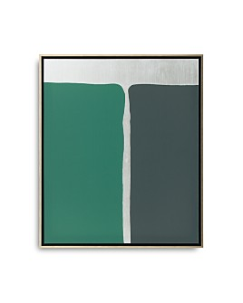 """Mitchell Gold Bob Williams - Equal Shapes with Silver Art, 26"""" x 31"""""""