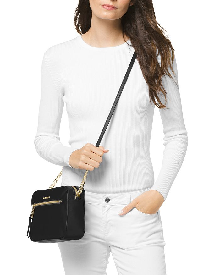40a967d13e3 MICHAEL Michael Kors Polly Large Nylon Crossbody   Bloomingdale s