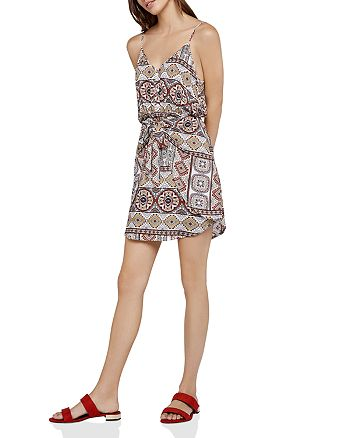 BCBGeneration - Tropical Tie-Front Dress