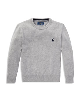 Ralph Lauren - Boys' Cotton Crewneck Sweater - Little Kid