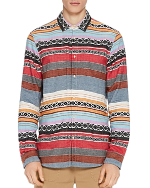 Scotch & Soda Jacquard Button-Down Shirt