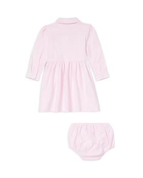 Ralph Lauren - Girls' Striped Mesh Oxford Dress & Bloomers Set - Baby