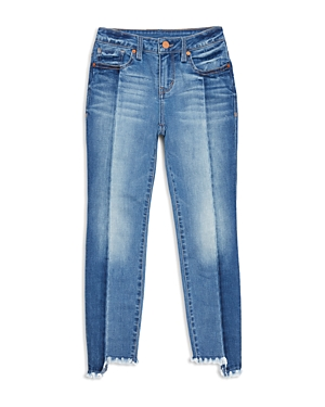Habitual Girls' Step Hem Two-Tone Skinny Jeans - Big Kid