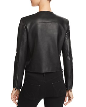 Theory - Clean Leather Moto Jacket