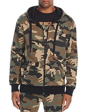True Religion Big T Camouflage-Print Hoodie