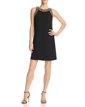 Aidan Mattox - Embellished Shift Dress - 100% Exclusive