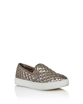 STEVE MADDEN - Girls' JEcntrcq Quilted Slip-On Sneakers - Little Kid, Big Kid