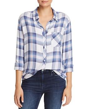 2e03f6272d6 Rails - Hunter Plaid Shirt ...
