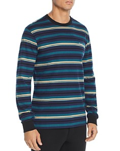 OBEY - Waterfall Long-Sleeve Striped Tee
