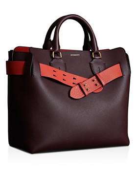 Burberry - Medium Belt Leather Tote